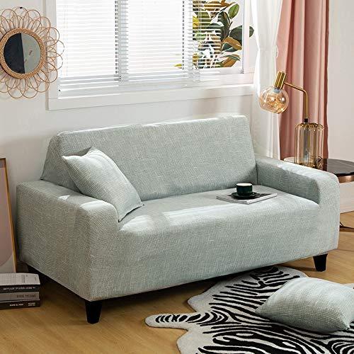 WXQY Fundas de Spandex para sofá para Sala de Estar, Funda elástica para sofá, Fundas para sillón, Protector de Muebles A10, 4 plazas
