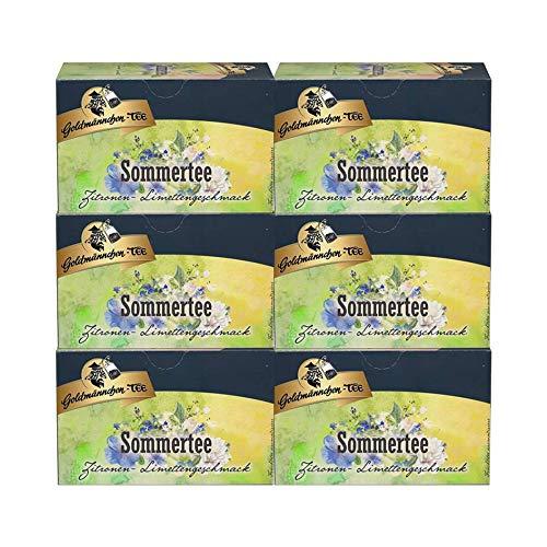Goldmännchen-TEE Sommertee Limette, 6er Pack