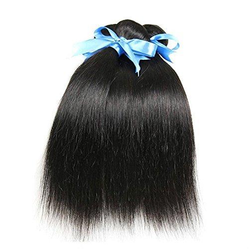 Cheveux brésiliens vierges droite 3 Lot 300 g tissage 100% cheveux cheveux vierges naturels non traités brésiliens Défrise (1 45,7 cm 50 g)