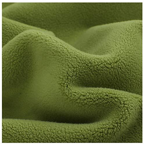 PHBSF Kunstpelz Fleece Stoff Weiche Baumwolle Fleece Herbst/Winter Mantel Mantel Pyjamas Home Kleidung Stoff Kleine Baumwolle Flanell Stoff 185CM Breite(Size:4m)
