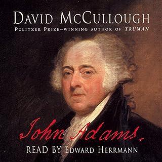 John Adams, Volume 1 audiobook cover art