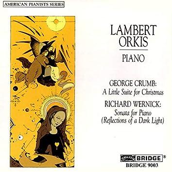 George Crumb & Richard Wernick: Piano Works