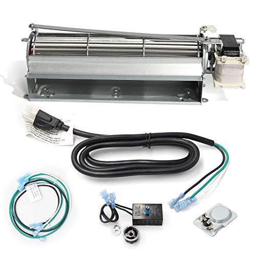Hongso GFK4 Replacement Fireplace Blower Fan KIT for Heatilator