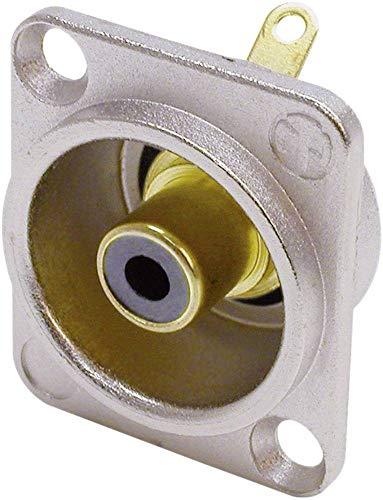 Neutrik ntr-nf2d-0–Verbinder Fäden (26mm, 31mm, 28,3mm, Silber, UL 94HB, EC 601–14, IP 40, IEC 68–2-20, 30–80°C)