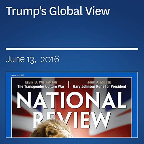 Trump's Global View audiobook cover art