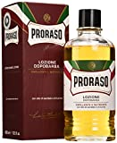 Proraso After-Shave Loción, Sándalo y Karité - 400 ml