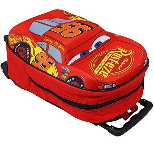 Disney Cars 3 Trolley McQueen Form Kinderkoffer Reisekoffer Auto Handgepäck 8636