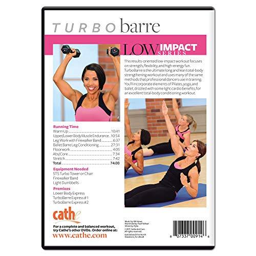 Cathe Friedrich's Low Impact Series: Turbo Barre DVD