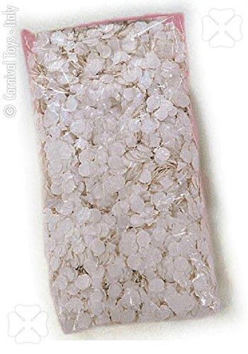 Coriandoloni bianchi grammi 250 coriandoli Matrimonio