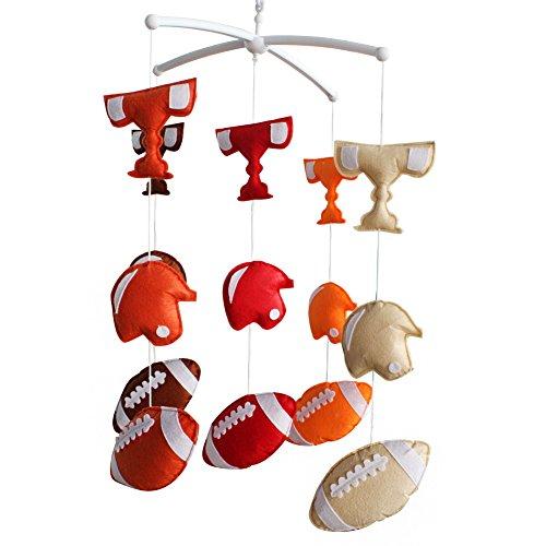 Décoration de pépinière de cadeau de jouet mobile de lit de bébé fait main pour 0-2 ans, MQ18