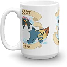 Dodogama Best Boi (MonHun: World). 15 Oz Ceramic Glossy Mugs Gift For Coffee Lover Unique Coffee Mug, Coffee Cup. 15 Oz Ce...