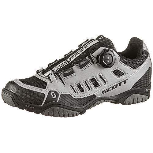 Scott Sport Crus-r Boa Damen MTB Trekking Fahrrad Schuhe Reflective grau/schwarz 2021: Größe: 39