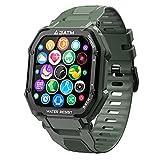 EPILUM Smartwatch Hombre Mujer, Reloj Inteligente Impermeable,...