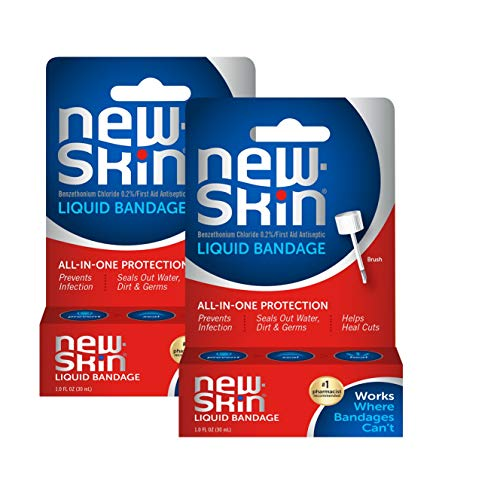 New-Skin Liquid Bandage, 1 Ounce, 2 Count (Packaging May Vary)