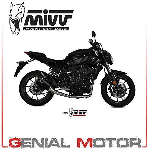 New Y.045.LXBP Komplette Auspuffanlage MIVV GP PRO Schwarz Hoch Mt 07 2018 18