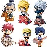 Naruto Action Figures | Shuukaku Naruto Shippuden Kakashi Hatake Uchiha Sasuke Uzumaki Gaara Bijuu Kyuubi Hokage Tobirama Action Toys Model Doll - by Gifts For Life