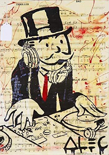 Alec Monopoly Grafiti Póster 101 (A5-A4-A3) - A5: Amazon.es: Hogar