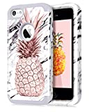 Dailylux iPhone 5C Case,5C Case,PC+Soft Silicone Three Layers Shockproof Armor...