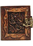 Glücklich Traurig Drama Maske Anhanger Nachfüllbar Leder Journal / Tagebuch / Sperren / Vintage-Stil / Notizbuch / Normalpapier Papier / Buch / Damen / Herren / Kinder / Büroarbeit