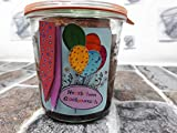 Geburtstags-Kuchen im Glas 'Schokolade' mit 270 Gramm / 580 ml Inhalt