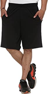 Vimal Men's Cotton & Crush Short (D12-Anthra-P)