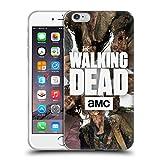 Head Case Designs Licenciado Oficialmente AMC The Walking Dead Grupo Logo Carcasa de Gel de Silicona Compatible con Apple iPhone 6 Plus/iPhone 6s Plus