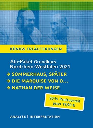 Abitur-Paket Nordrhein-Westfalen 2021. Deutsch Grundkurs - Königs Erläuterungen: Ein Bundle mit allen Lektürehilfen zur Abiturprüfung