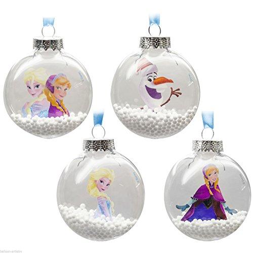 Disney Festive Frozen Smartie Bola (elección de 4)–Decoraciones Colgantes