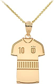Best gold number necklace Reviews