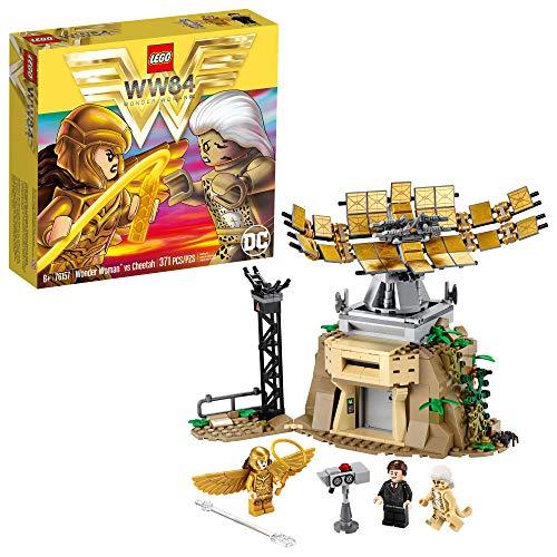 LEGO DC Wonder Woman vs Cheetah 76157 with Wonder Woman (Diana Prince),...