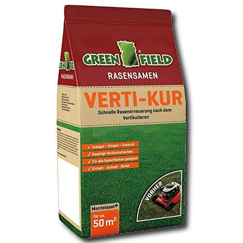 Greenfield 63391 Verti - réparation de pelouse Kur 3,2 kg pour ca. 50 m²