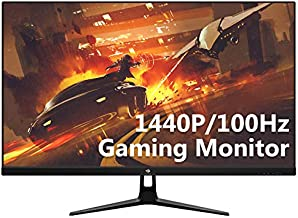 UG27Q 27-inch IPS Gaming Monitor 100Hz - QHD 2K 2560 x 1440 Computer Monitor with HDR and Eye-Care Technology, 178° Wide View Angle