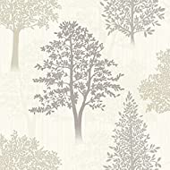 Size: 10.05 X 0.53m Approx: 5.32msq Pattern Repeat: 26.5cm Match: Offset Paste The Paper, Extra Washable Peelable, Good Light Fastness Ideal for use as living room wallpaper, bedroom wallpaper, dining room wallpaper, or for a feature wall