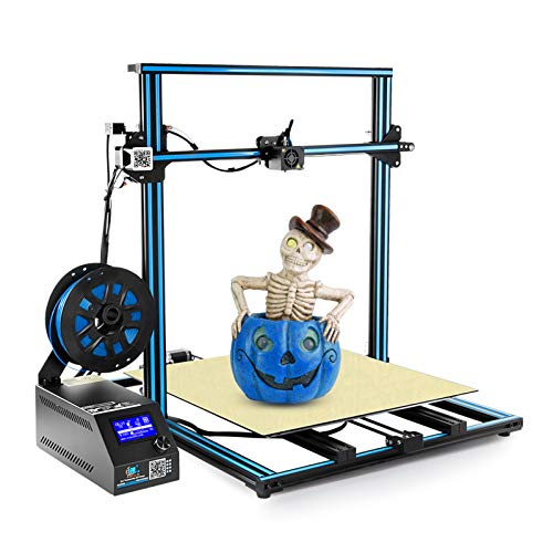 Creality CR-10 S5 Plus 3D Printer by MKK with Dual Z-axis Semi-Assembled, Massive Print Size 500x500x500mm Blue