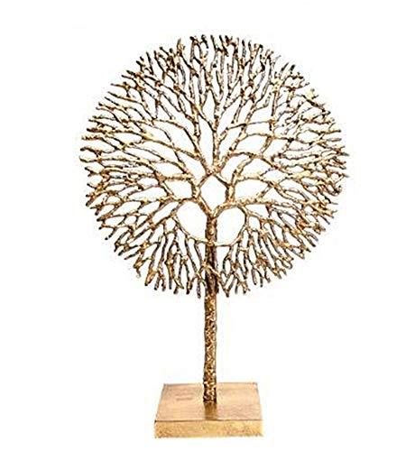 """Preisvergleich Produktbild Schmuckständer """"Baum des Lebens"""",  poliertes Aluminium,  51 cm,  ideal als Geschenk"""