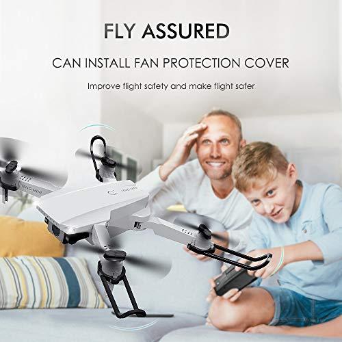 GoolRC KF609 Faltbare Mini-Drohne mit Kamera 720P Indoor RC Quadcopter APP-Steuerung mit Headless-Modus 360 ° Drehgeste für Erwachsene Kinder Anfänger Tolles Geschenkspielzeug