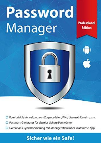 Password Manager Professional Edition - Sicher wie ein Safe für Windows 10-8-7 und Mobile iOS & Android