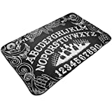 HaiYI-ltd Ouija Board - Felpudo de entrada, antideslizante, para porche, cocina, lavadero, 49,5 x 80 cm