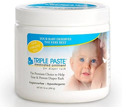 Triple Paste Medicated Ointment for Diaper Rash 16 Ounce product image