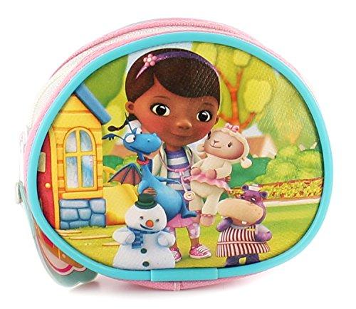 Doc McStuffins Kleine Geldbörse für Mädchen/Kinder, mit Reißverschluss, Pink - Pink - UK-Größen 1-1, Pink - rose - Größe: 1 UK