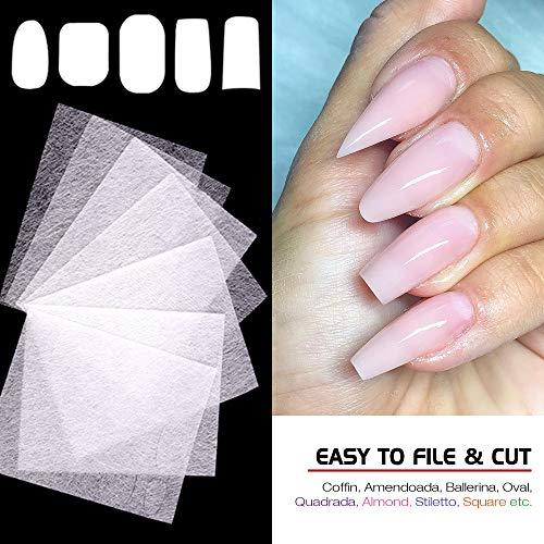 Nails with Silk Wraps