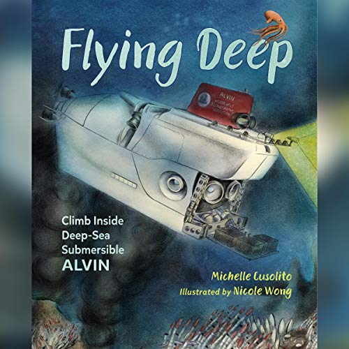 Flying Deep audiobook cover art