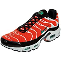 Nike Air MAX Plus, Zapatillas de Gimnasia para Hombre, Naranja (Team Orange/Neptune Green/White/Black 801), 44.5 EU