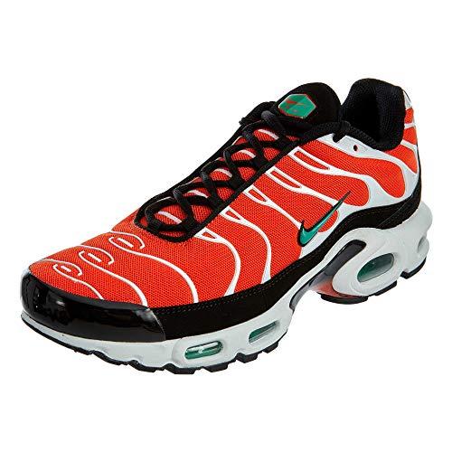 Nike Herren Air Max Plus Gymnastikschuhe, Orange (Team Orange/Neptune Green/White/Black 801), 47 EU