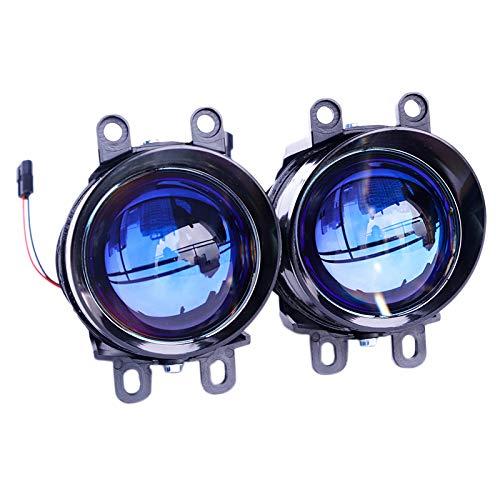 VORA Lente de Proyector de Luz Antiniebla de 3,0 Pulgadas 12000LM Bi-Xenon HID LáMpara Antiniebla para Corolla Yaris Avensis Camry H11