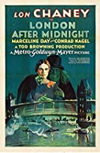 burning desire poster Rare Poster Thick London After Midnight Movie 1927 lon Chaney Hammer 12