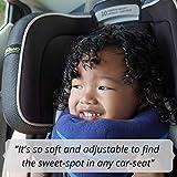 BCOZZY Kinder Nacken und Kinn stützendes Reisekissen - unterstützt den Kopf, Hals und das Kinn. Ein Patentiertes Produkt. Kindergröße, MARINEBLAU - 4