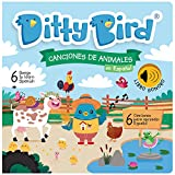 DITTY BIRD Sound Musical Book in Spanish Canciones de Animales for Baby and Toddler