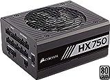 Corsair HX750 PC-Netzteil (Voll-Modulares Kabelmanagement, 80 Plus Platinum, 750 Watt, EU)