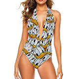 Donald Ducks Adult One Piece Swimsuit with Tape for Women Pools Beach and Sandy Beach XXL
